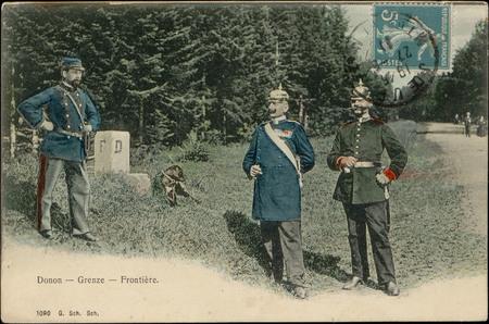 Donon - Grenze - Frontière