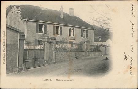 Eloyes, Maison de refuge