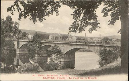 Eloyes (Vosges), Le Pont sur la Moselle