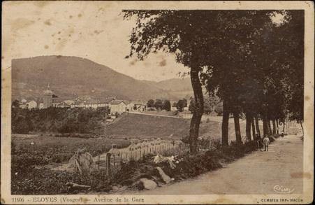 Eloyes (Vosges), Avenue de la Gare