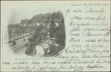 Quai de Juillet & Monument commémoratif