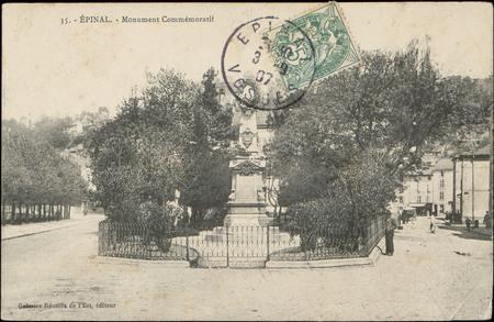 Épinal, Monument commémoratif
