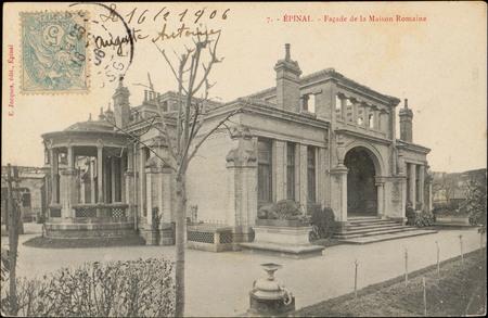 Épinal, Façade de la Maison romaine