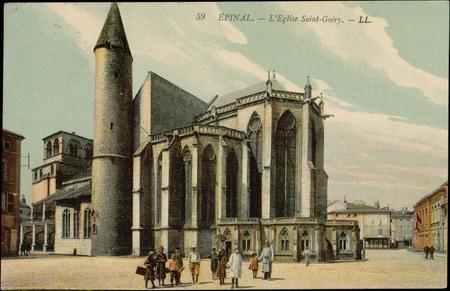 Épinal, L'Église Saint-Goéry