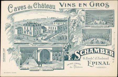 Caves du Château, Vins en gros, F. Schamber […]