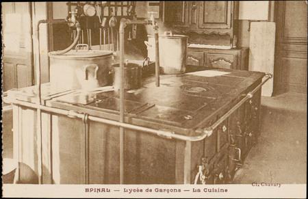 Épinal, Lycée de Garçon, La Cuisine