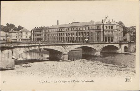 Épinal, Le Collège et l'École Industrielle