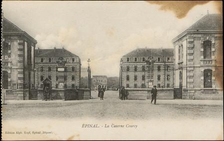 Épinal, La Caserne Courcy