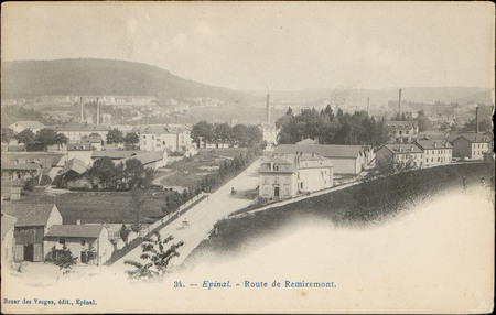 Épinal, Route de Remiremont