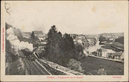 Épinal, Vue générale sur la Moselle