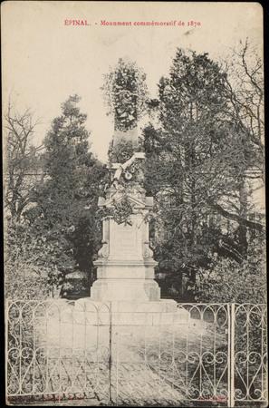 Épinal, Monument commémoratif de 1870