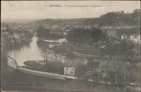 Épinal, Vue panoramique prise près de St-Antoine