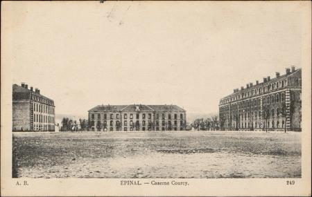 Épinal, Caserne Courcy