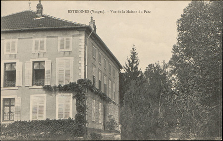 Estrennes (Vosges), Vue de la Maison du Parc