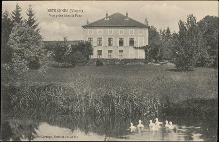 Estrennes (Vosges), Vue prise dans le Parc