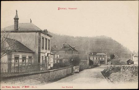 Étival (Vosges), La Mairie