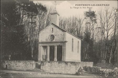 Fontenoy-le-Château, La Vierge du Bois Banny