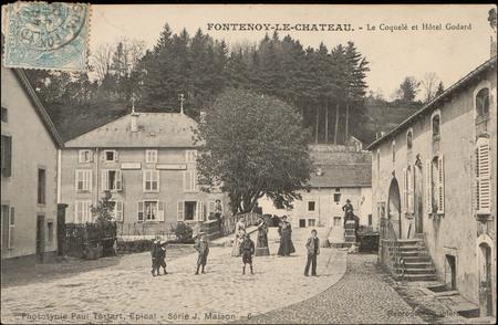 Fontenoy-le-Château, Le Coquelé et Hôtel Godard