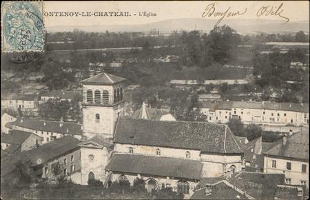 Fontenoy-le-Château, L'Église