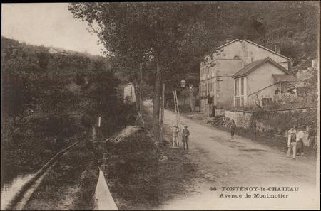 Fontenoy-le-Château, Avenue de Montmotier