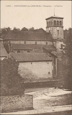 Fontenoy-le-Château (Vosges), L'Église