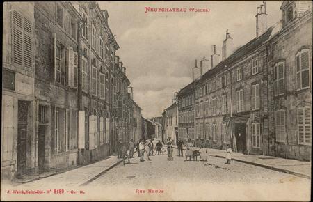 NeufChâteau (Vosges), Rue Neuve
