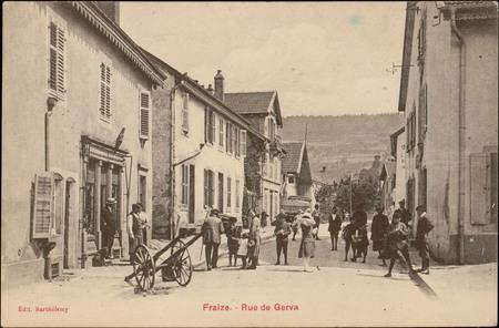 Fraize, Rue de Gerva