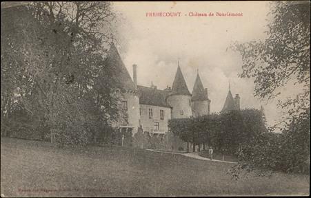 Frébécourt, Château de Bourlémont