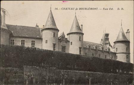 Château de Bourlémont, Face Est