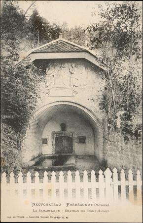 NeufChâteau - Frébécourt (Vosges), La Samaritaine, Château de Bourlémont