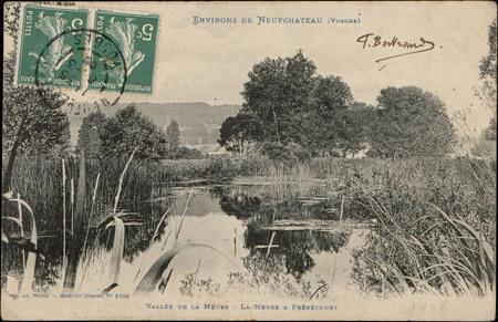 Environs de NeufChâteau (Vosges), Vallée de la Meuse, La Meuse à Frébécourt