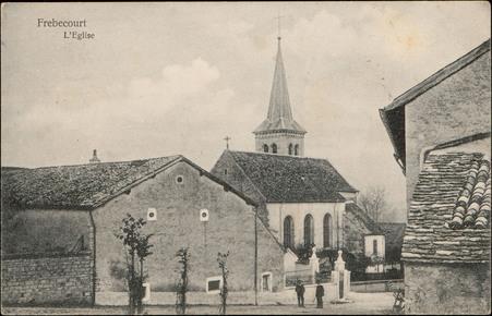 Frébécourt, L'Église