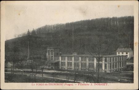 La Forge-de-Thunimont (vosges), Filature J. Dorget