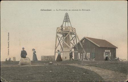 Gérardmer, La Frontière au sommet du Hohneck