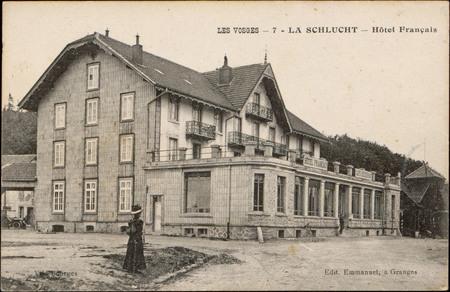 La Schlucht, Hôtel français