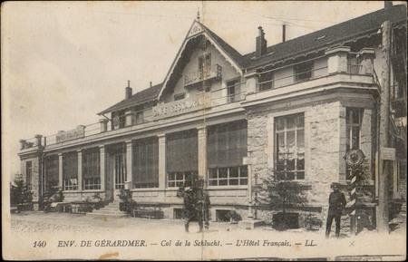 Env. de Gérardmer, Col de la Schlucht, L'Hôtel français