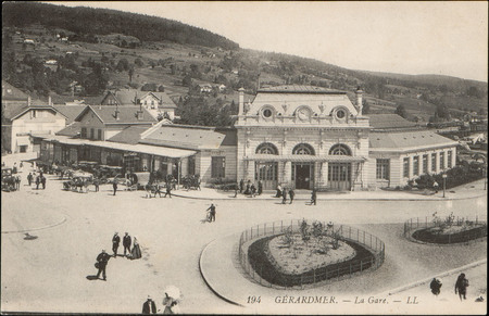 Gérardmer, La Gare