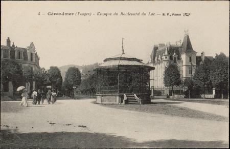 Gérardmer (Vosges), Kiosque du boulevard du Lac
