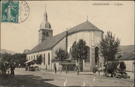 Gérardmer, L'Église
