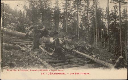 Gérardmer, Les Schlitteurs