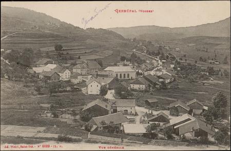 Gerbépal (Vosges), Vue générale