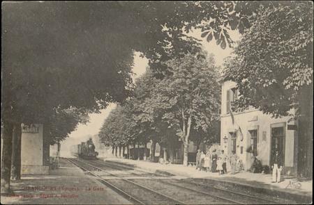 Girancourt (Vosges), La Gare