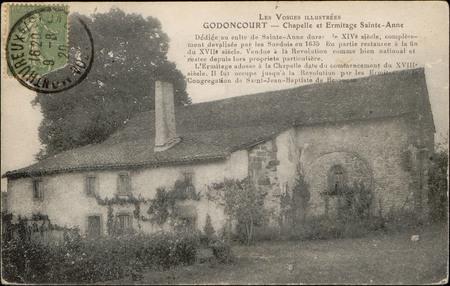 Godoncourt, Chapelle et Ermitage Sainte-Anne […]