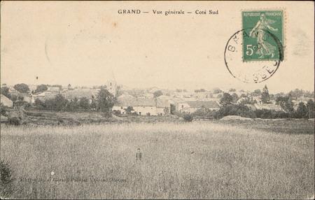 Grand, Vue générale, Côté Sud