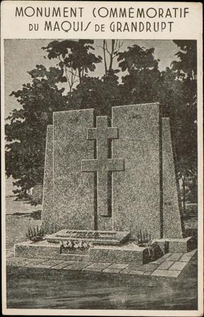 Monument commémoratif du Maquis de Grandrupt