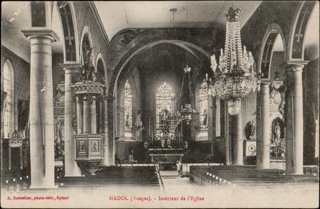 Hadol (Vosges), Intérieur de l'Église