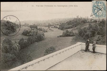 Vue des Terrasses du Sanatorium (Côté Est)