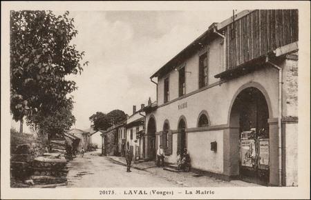 Laval (Vosges), La Mairie