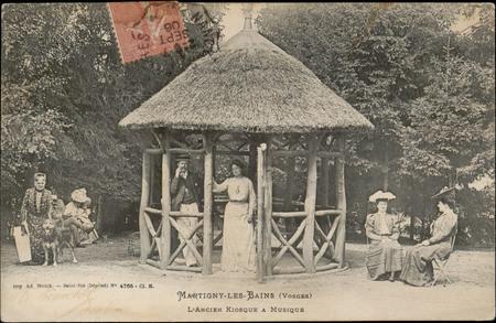 Martigny-les-Bains (Vosges), L'Ancien Kiosque à musique