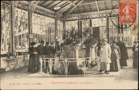 Martigny-les-Bains, La Source